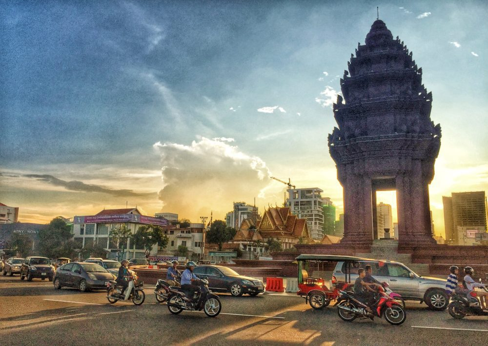 Why Did The Visitor Cross The Street In Phnom Penh?